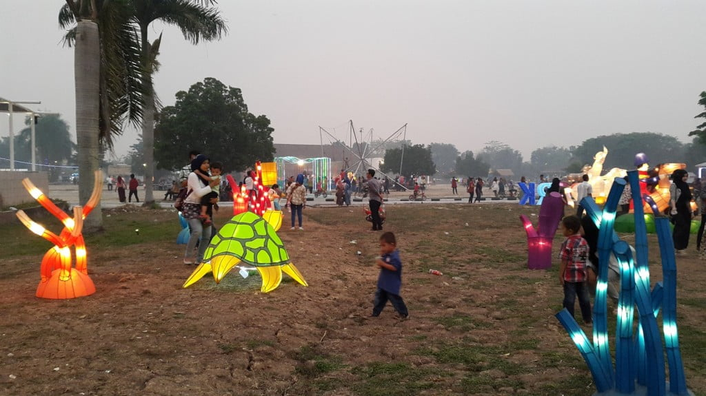 Suasan di Taman Pelangi