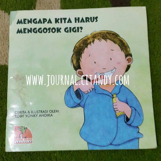 Tips Balita Sikat Gigi