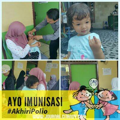 Pekan Imunisasi Nasional 2016 - Imunisasi Polio