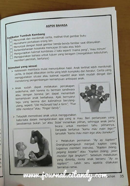 Stimulasi Tumbuh Kembang Anak Umur 18-24 Bulan