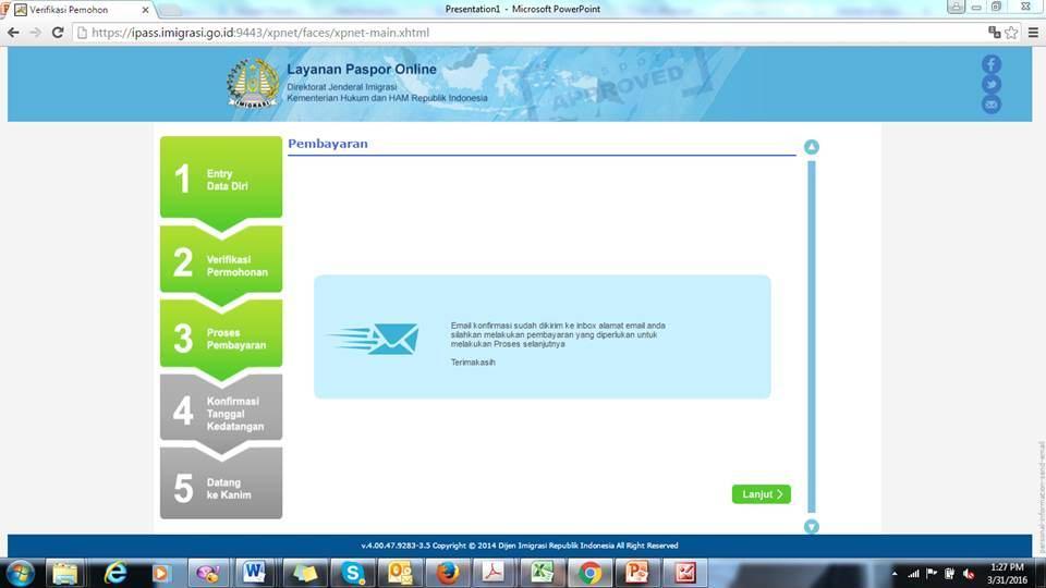 Membuat Paspor Online Tanpa Calo