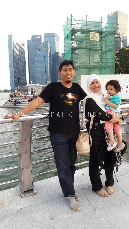Merlion Park Itinerary Traveling Singapura dengan Anak 2016