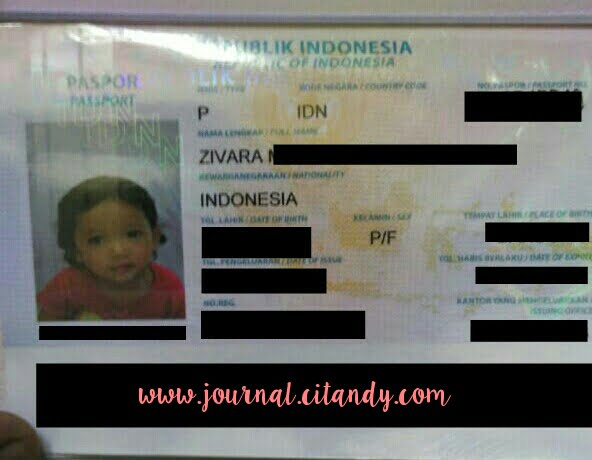 Paspor Anak Online