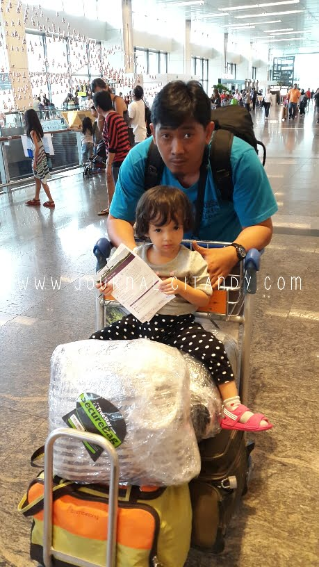 Changi Airport With Kid