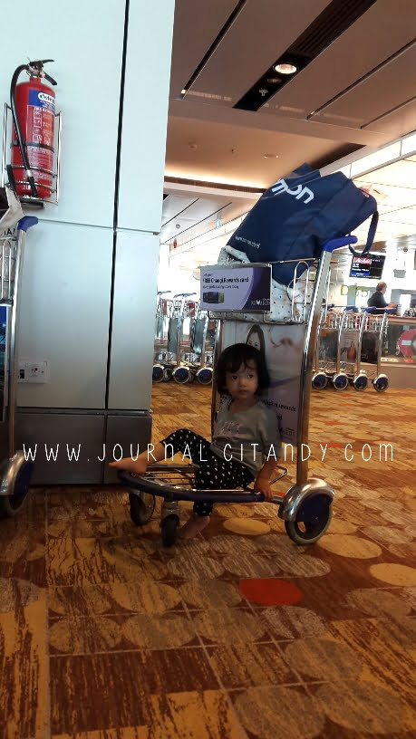 Changi Airport With Toddler