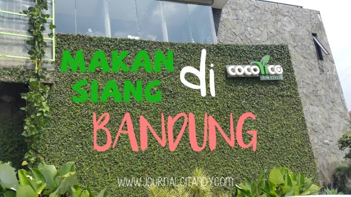 Makan Siang di Cocorico Bandung