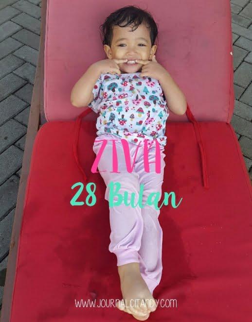 Milestone anak 28 bulan