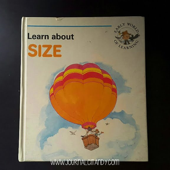 Buku Poldy Learn About Size