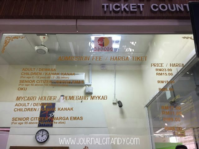 harga-tiket-menara-taming-sari-melaka-malaka-2016